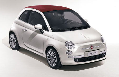 Fiat 500, auch als Cabrio