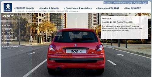 Peugeot 206+ - ohne Partikelfilter?