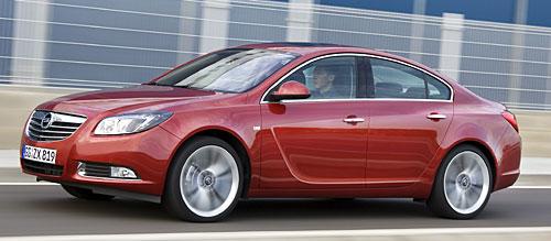 Der Opel Insignia ecoFlex © GM Corp.