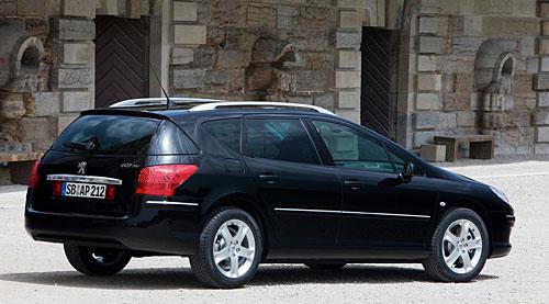 Peugeot 407 SW: Groß, geräumig und trotzdem geringer Verbrauch