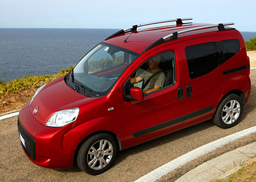 Umweltfreundlich: Fiat Qubo