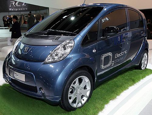 Der iOn von Peugeot