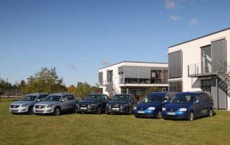 Volkswagen Brennstoffzellen-Fahrzeuge im Praxis-Test