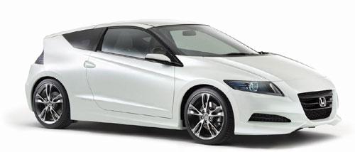 Der Hybrid-Zweisitzer Honda CR-Z soll 2010 kommen