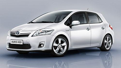 Toyota Auris als neuer Hybrid