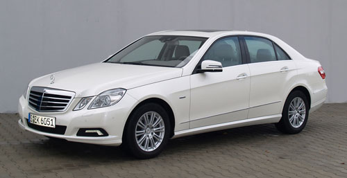 Vom ADAC gelobt: Der Mercedes E350 CDI BlueTec