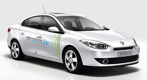 Elektrofahrzeuge von Renault