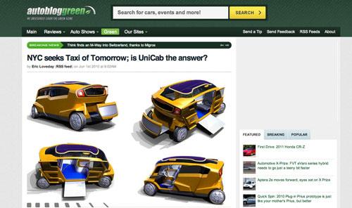 Ein neues Yellow Cab - eine neue Ikone?