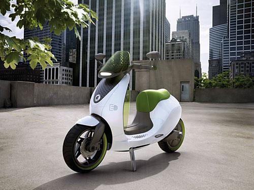 smart escooter von Daimler