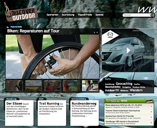 Mazda: Discover Outdoor