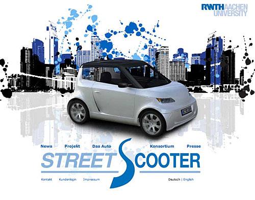 Streetscooter - Projekt der RWTH Aachen