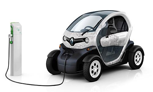 Der Twizy von Renault. Bild: Renault