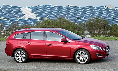 Volvo V60 als DRIVe besonders sparsam. Bild: Volvo