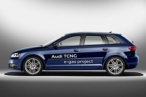 Audi e-gas-Fahrzeuge