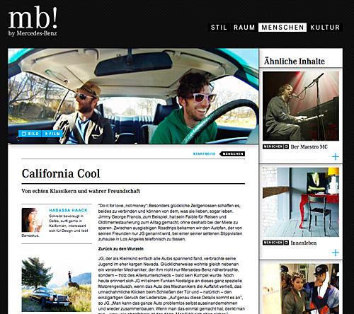 California Cool bei mb!