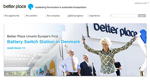 Batteriewechsel-Stationen in Dänemark