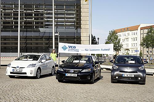 Die Sieger der VCD Auto-Umweltliste 2011/2012