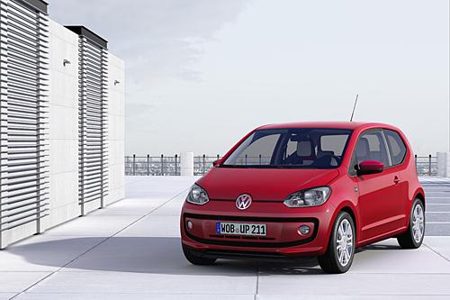 Der VW up! - Kleinwagen mit Sparpotenzial