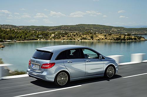 Die neue B-Klasse von Mercedes-Benz