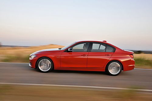 Der neue BMW 3er - kann auch sparsam