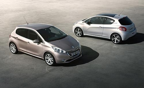 Der neue Peugeot 208 erscheint 2012.