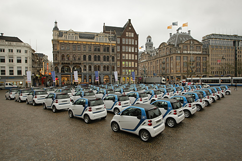 Car2go-Start in Amsterdam - und bald auch in Stuttgart