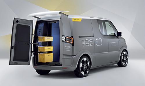 VW et! - Studie eines rein elektrischen Zustellfahrzeugs