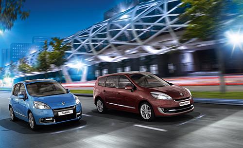 Neue Renault Scenic Modelle und Motoren (Bild: Renault)