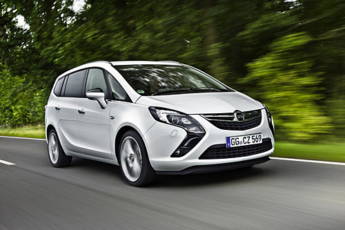 Opel Zafira CNG (© GM Company)