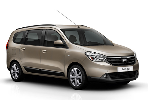 Der Dacia Lodgy  (Bild: Dacia)