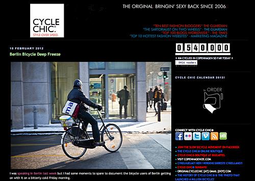 Cycle Chic® - Lust am Radfahren in der Stadt