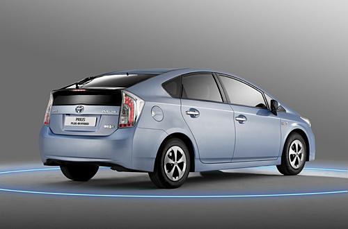 Hybridautos wie der Toyota Prius sind ein wachsender Markt (Foto: Toyota)