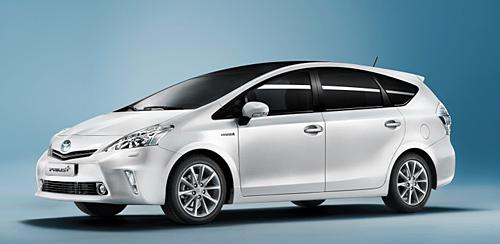 Der Toyota Prius+ (Foto: Toyota)
