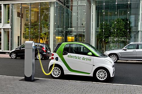 Ab sofort zu bestellen: Der smart electric drive. Foto: Daimler