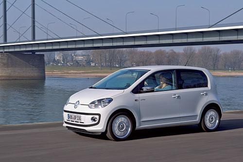 Der VW up!, hier als Viertürer  Bild: VW