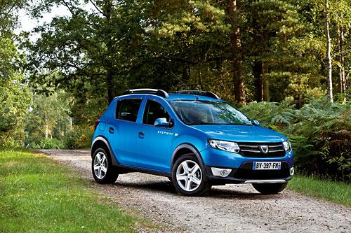 Dacia Sandero Stepwas. ©Foto: Dacia