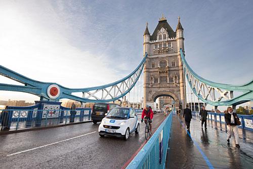 car2go startet in London. Copyright: Daimler