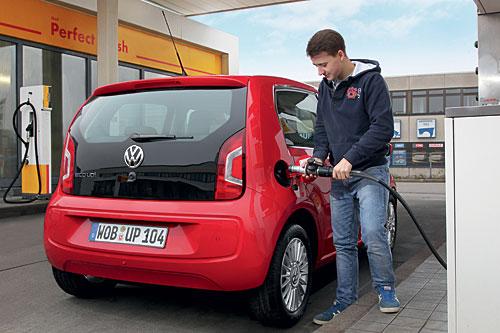 Ab sofort zu haben: der eco up mit Erdgasantrieb. Bild Volkswagen.