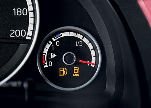 Noch ein Thema: Die Dichte der Erdgastankstellen. Bild: Volkswagen