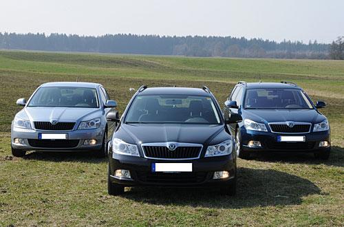 Der ADAC testet Autogas-Fahrzeuge