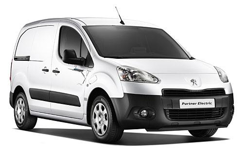 Peugeot Partner Elektroauto. Bild: Peugeot