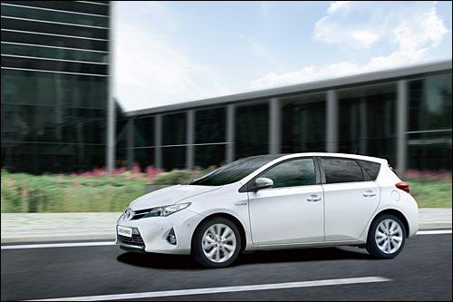 Noch effizienter: Der Toyota Auris Hybrid. Foto: Toyota