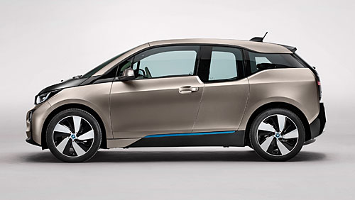 BMWi3 - vollelektrisch. Bild: BMW