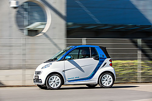 Smart fortwo electric drive Foto: Daimler
