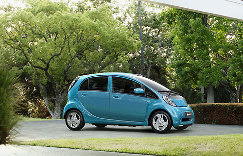 "Das Mitsubishi ""Electric Vehicle"", vormals als i-Miev verkauft. Bild: Mitsubishi"