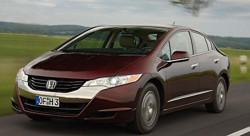 Brennstoffzellen-Fahrzeug Honda Clarity. Bild: Honda
