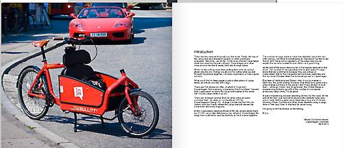Cargobikenation: Doppelseite aus dem Buch