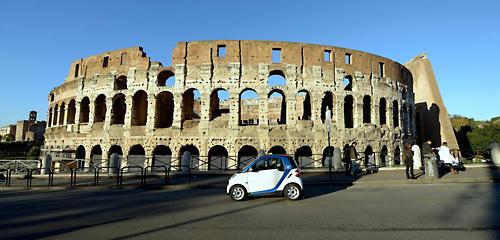car2go in Italien. Bild: Daimler
