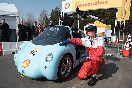 Shell Eco-Marathon Europa: Urban Concept Car. Bild: Shell