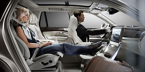 Volvo Lounge Concept. Bild: Volvo